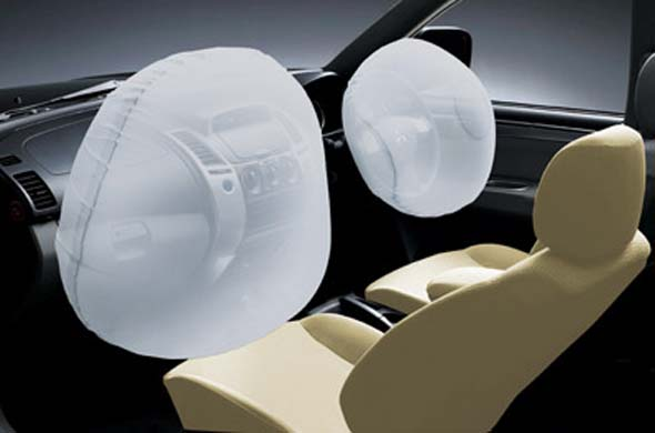 pajero sport dual srs airbags