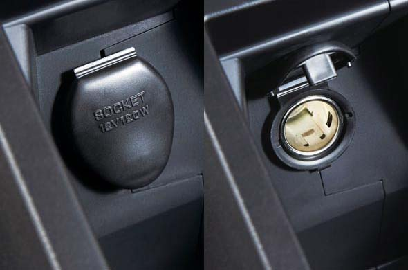 pajero sport power sockets
