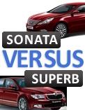 Skoda Superb versus all new Hyundai Sonata