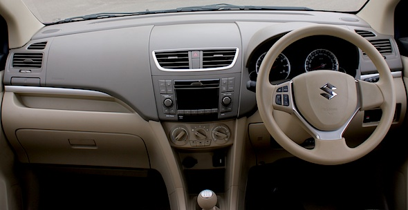 ertiga interior dashboard