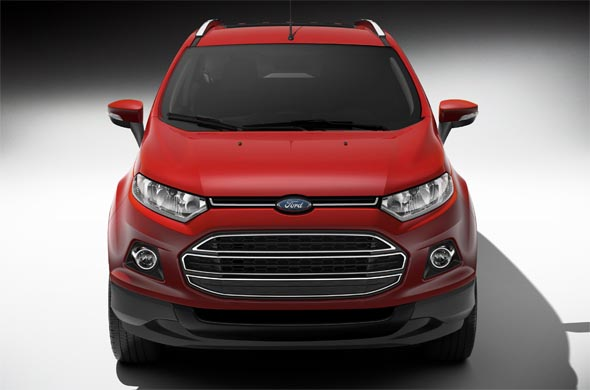 ford ecosport front