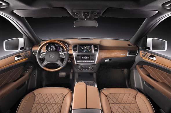 mercedes benz m class interiors