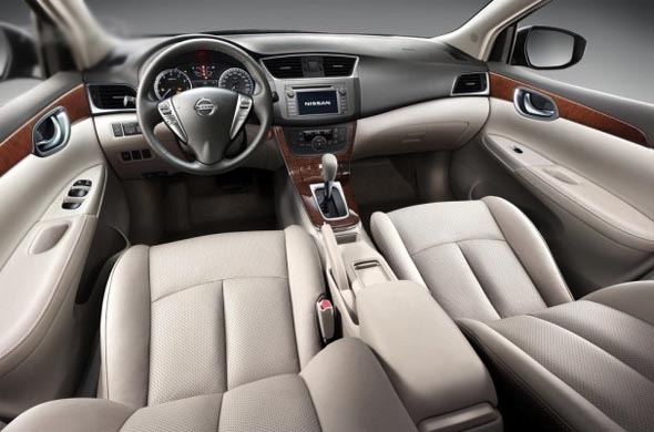 2013 nissan sylphy interiors