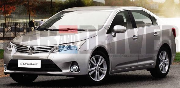 2013 Toyota Corolla photos leaked!