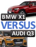 Audi Q3 versus BMW X1: Which is better?