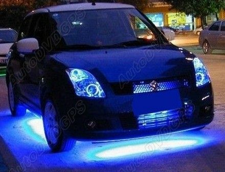car underbody neon lighting