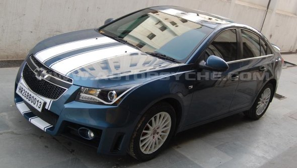 chevrolet cruze car customisation india