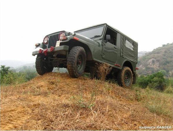 custom build army jeep photo