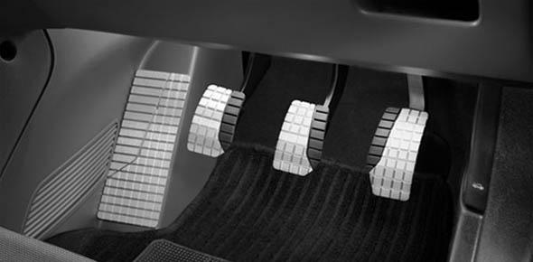 fiat punto sports pedals