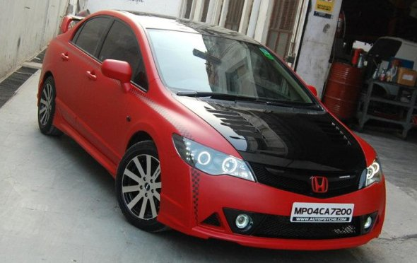 honda civic customisation photo