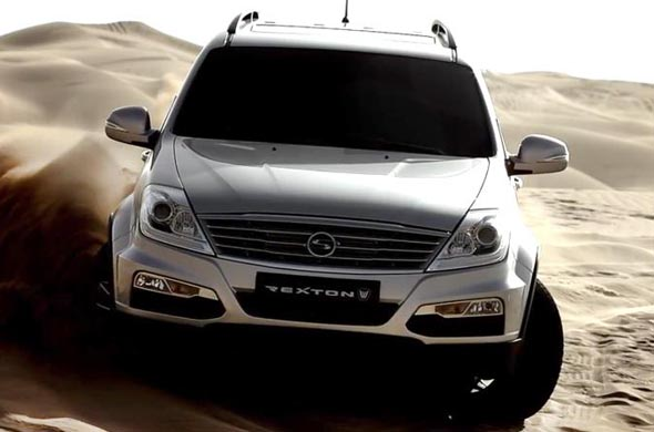 mahindra ssangyong rexton photo