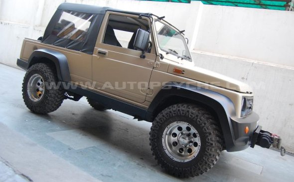 maruti suzuki gypsy custom photo