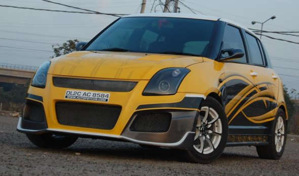 maruti swift modded photo