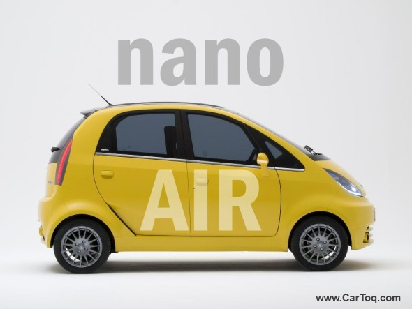 tata nano air photo