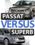 Is the Superb Ambition variant more value for than the Passat Comfortline?