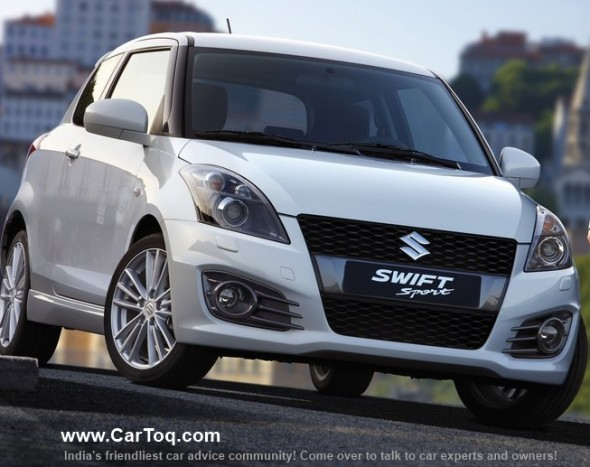 suzuki swift sport india launch photo