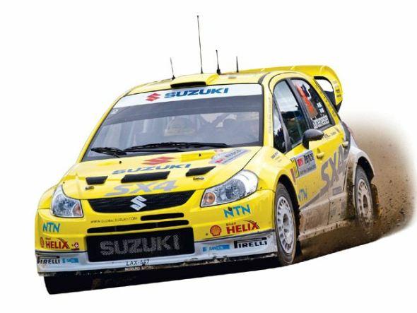 suzuki sx4 wrc rally car photo