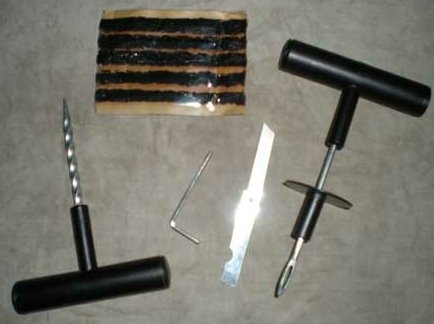 tyre puncture kit
