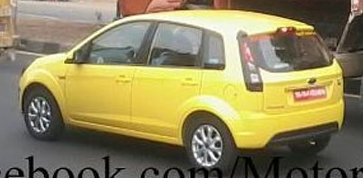 Ford Figo face lift may be in the works for October 2012!