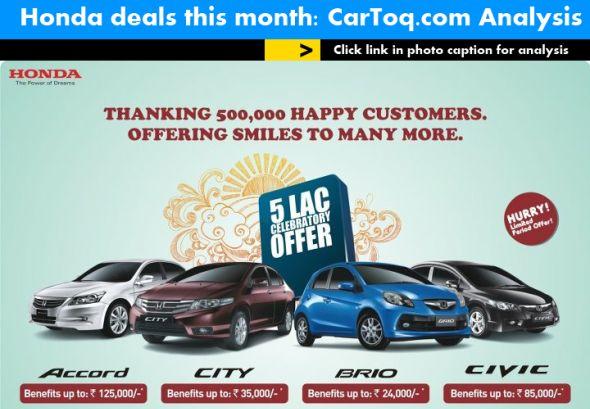 honda deals may 2012