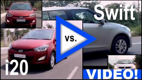 i20 vs Swift: Video Comparison!
