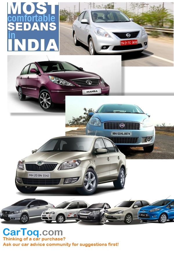 most comfortable mid size sedans in india include nissan sunny skoda rapid fiat linea and tata. Black Bedroom Furniture Sets. Home Design Ideas