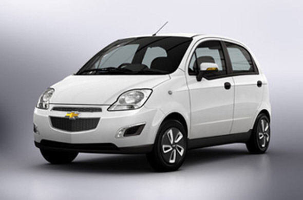 Chevrolet Spark face lift to launch by the end of 2012