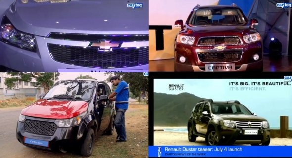 Latest Indian car news: Video roundup by CarToq.com (30 June 2012)