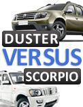 Renault Duster versus Mahindra Scorpio: SUV comparison
