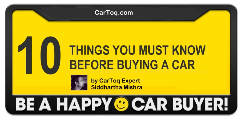 10 things to know before buying a car