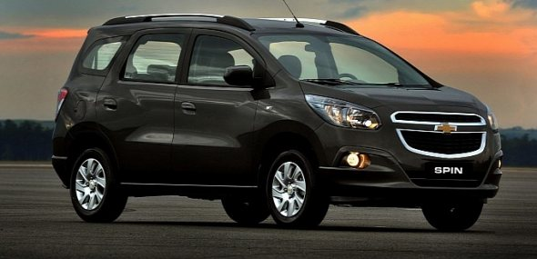 Chevrolet Spin unveiled, official photos released