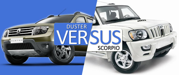 renault duster vs mahindra scorpio comparison specifications price. Black Bedroom Furniture Sets. Home Design Ideas