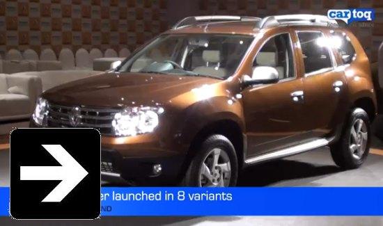 Renault Duster vs Mahindra XUV500 video comparison