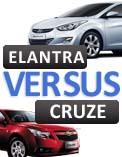 Chevrolet Cruze vs Hyundai Elantra video comparison