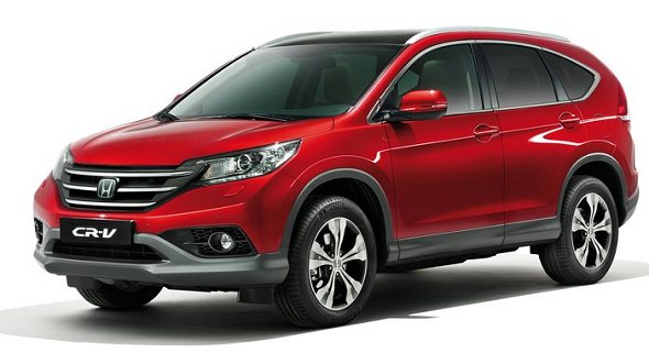New 2013 Honda CR-V SUV launch in India on Feb 12