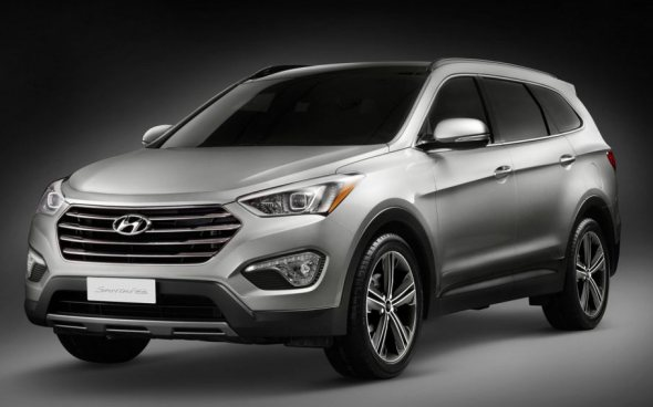 2014 Hyundai Sante Fe SUV Front Pic