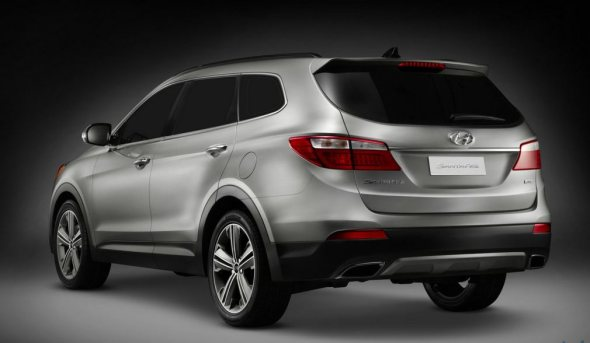 new santa fe rear left
