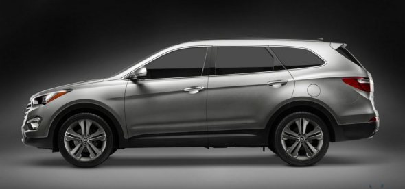 new santa fe side profile