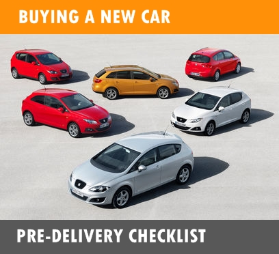 8 pre-delivery checklist points for a new car