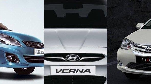 Sedan sales in June 2012: Hits and misses