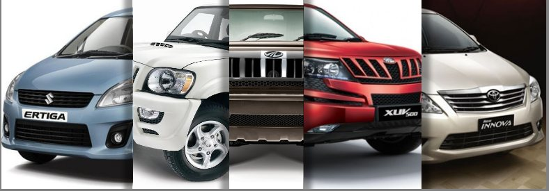 SUV - MPV sales india june 2012