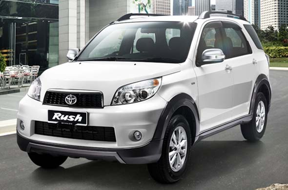 toyota rush front left