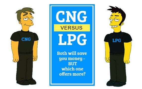 cng vs lpg comparison of savings