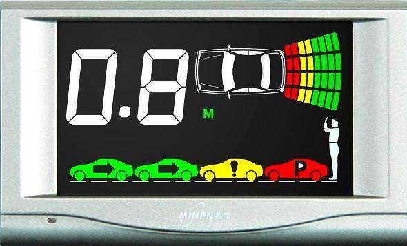 parking sensor display