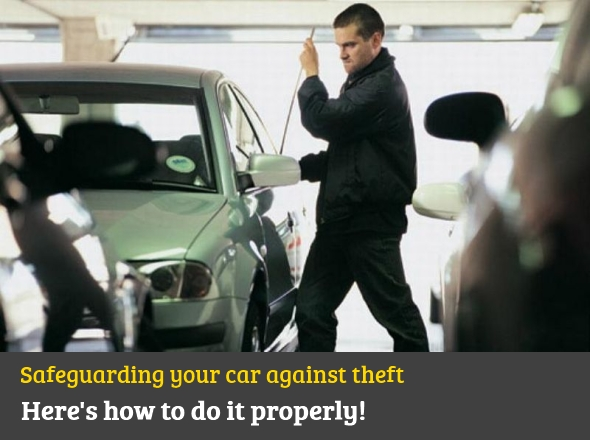 How to safeguard your car against theft