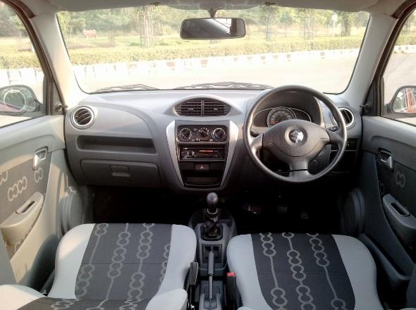 new alto 800 interior photo