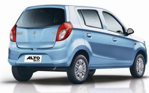 maruti suzuki alto 800 rear photo
