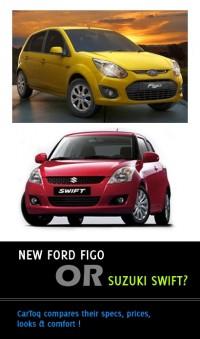 New Ford Figo vs Maruti Suzuki Swift comparison | Cartoq ...