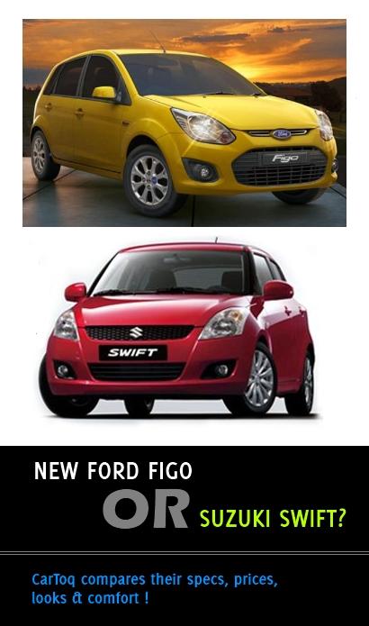 Ford Figo vs Maruti Swift video comparison