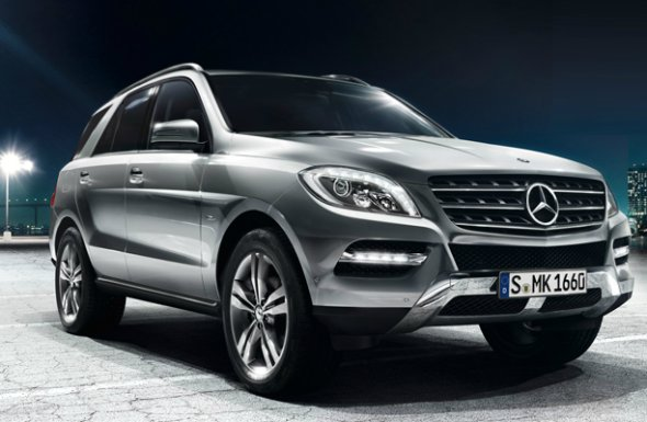 mercedes ml250 photo